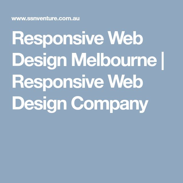 Responsive Web Design Melbourne | Responsive Web Design Company