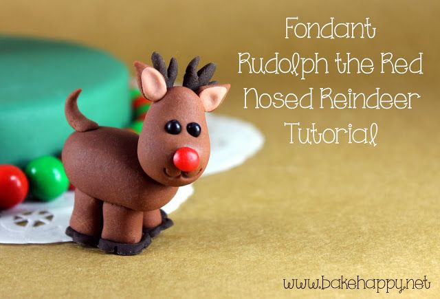 DIY Rudolph the Red Nosed Reindeer - Step-by-Step Tutorial