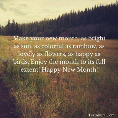 happy new month wish 1