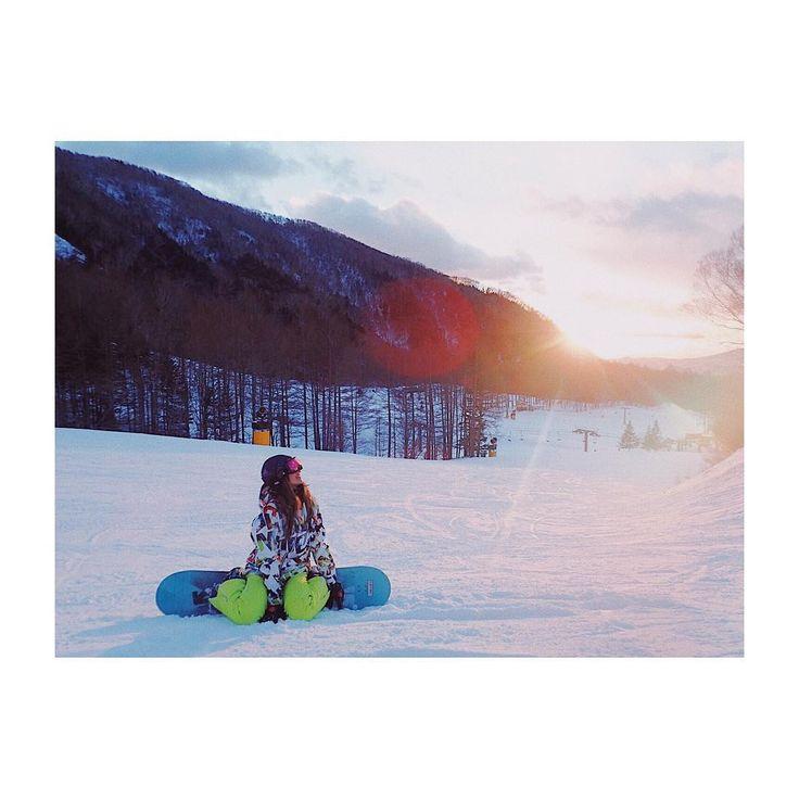 .  雪山行ったり海行ったり  インスタが混雑中。笑