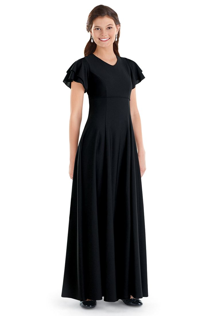 Black dress ideas for fall youth