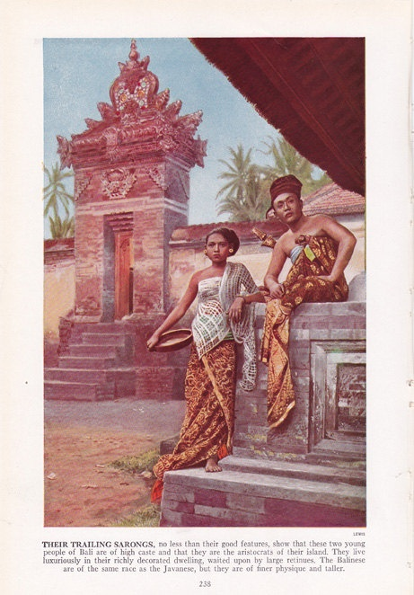 Young Bali couple of high caste - aristocrats of by route44west, $10.00