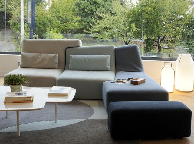 pratique le canapé modulable !   ligne roset, Mobel ideea