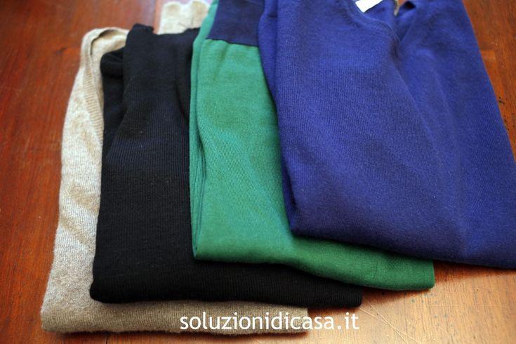 Come lavare un capo di lana d'angora | Titty e Flavia, esperte di economia domestica e cura della casa, spiegano come lavare, strizzare e stendere un capo di lana d'angora.