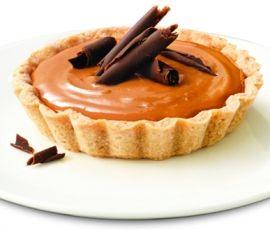 Caramel Tarts: A rich caramel sauce in a buttery crisp tart shell. http://www.bakers-corner.com.au/recipes/pies-and-tarts/caramel-tarts/
