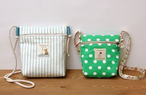 """Peachmade こどもポシェットの作り方 