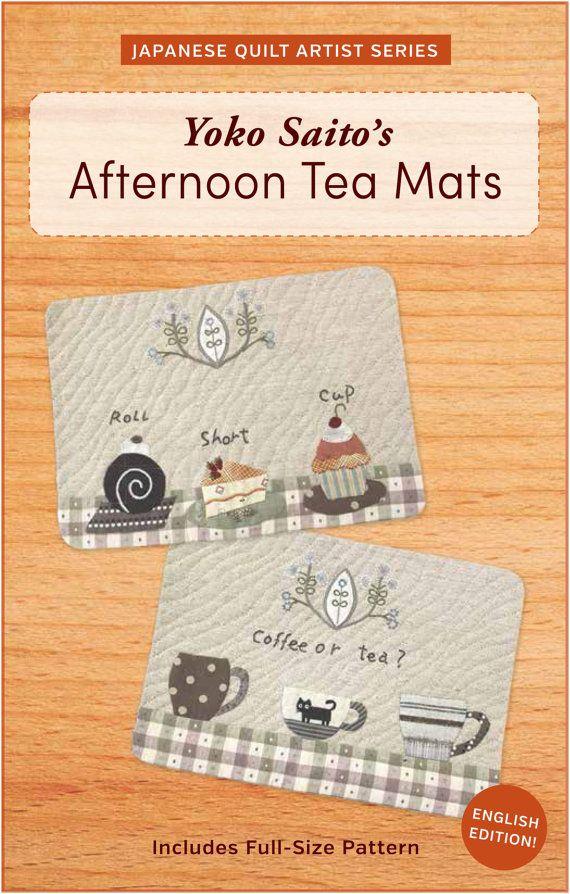 Yoko Saito's Afternoon Tee Matten mit voller von ZakkaWorkshopStore