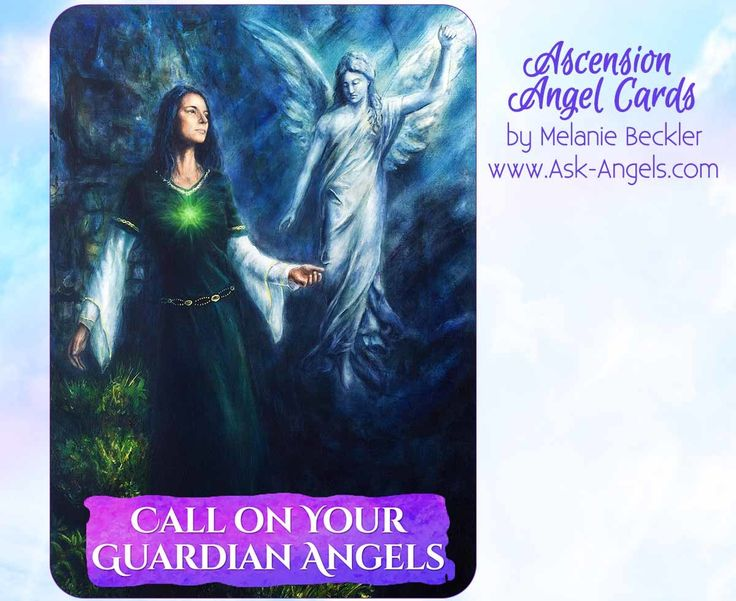 how to ask your guardian angel for help
