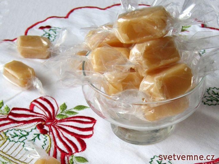 Medové karamelové bonbóny, recept