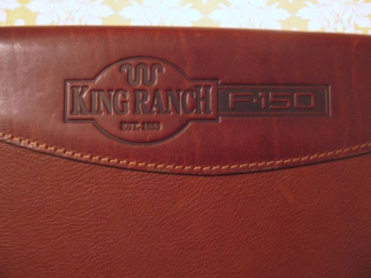 King Ranch Ford F150 Brown Leather Planner Organizer