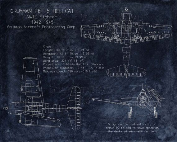 15 best blueprint art images on pinterest blueprint art aircraft grumman f6f hellcat wwii fighter blueprint art airplane blueprint aviation decor airplane decor husband gift fathers day gift malvernweather Image collections