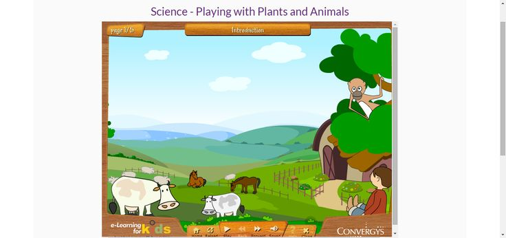Science - Playing with Plants and Animals Educational game #HomeEducation #HomeSchool