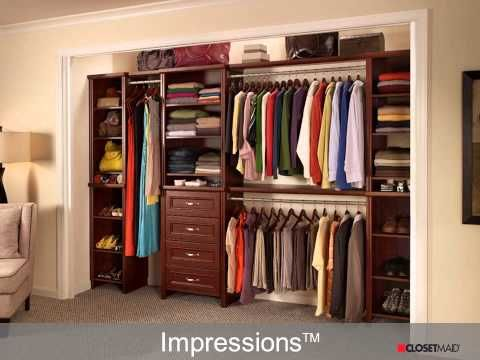 Remove your existing closet system & refresh it with your style & personality! See how with ClosetMaid's newest QuickTip video bit.ly/1ChbYaR