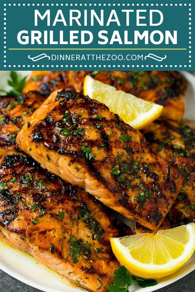 Grilled Salmon Recipe | Marinated Salmon | Healthy Salmon Recipe #salmon #grilli…