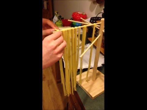 KitchenAid Pro 600 with a Pasta Roller and Cutter making Fettuccine - YouTube
