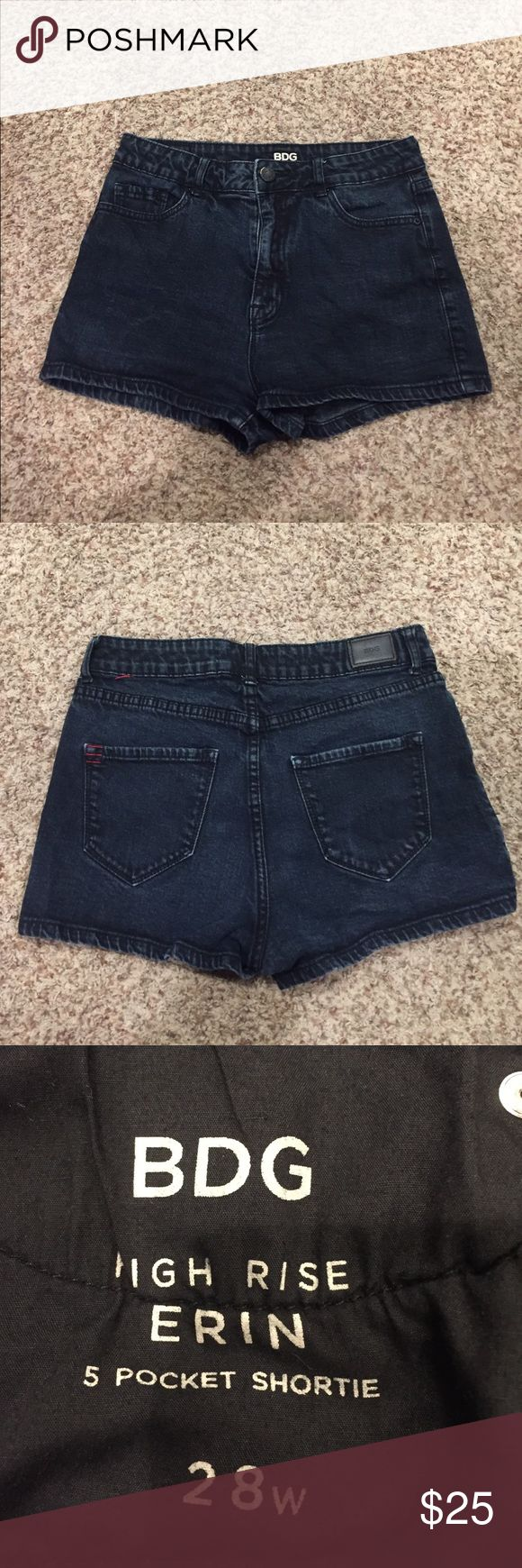 BDG Shorts From urban outfitters, these literally go with anything perfectly. High rise shorts, go up to the belly button BDG Shorts Jean Shorts