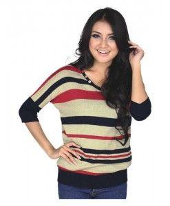 tshirt wanita terkini berbahan knit | tokofobia.com toko fashion online murah dan berkualitas