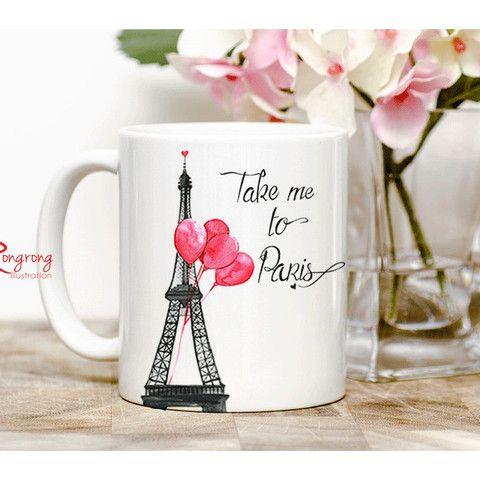 Take me to Paris - Coffee Mug – Manor | Simply Smashing Home Decor