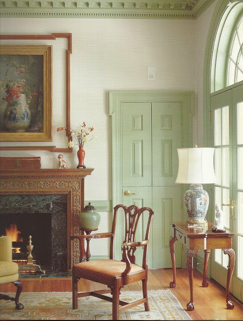 103 best Colonial Period Interior Ideas images on Pinterest - home interior paint ideas