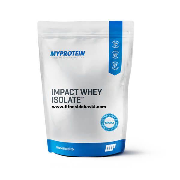 Myprotein Impact Whey Isolate е 100% хидролизиран суроватъчен протеин. Съдържа невероятните 23 грама протеин, 0.6 грама въглехидрати и 0.1 грама мазнини.