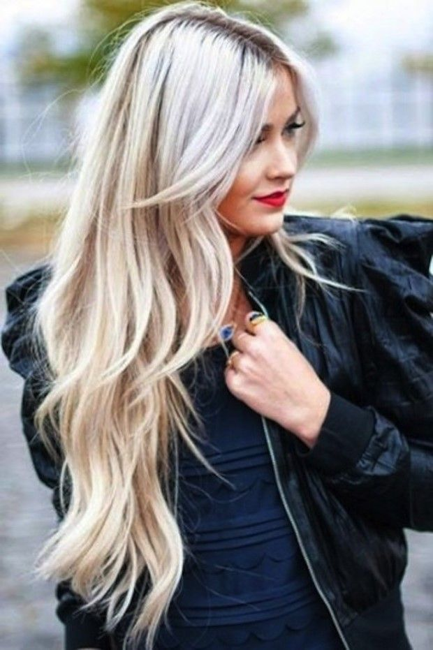 Melena rubia muy larga escalada 2015 melenas pinterest - Peinados de melenas largas ...