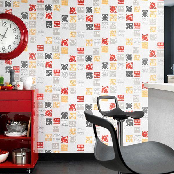 M s de 1000 im genes sobre decorar cocinas y ba os con - Papeles pintados la maison ...