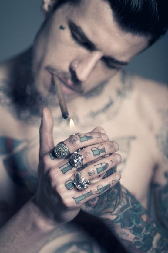 I love boys with tattoos