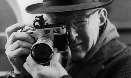 """""""Make visible what, without you, might perhaps never have been seen."""" Henri Cartier-Bresson, photographer"""