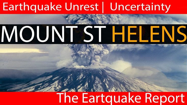 Earthquake Report | Mount St Helens Eruption Uncertainty | Earthquake Sw...