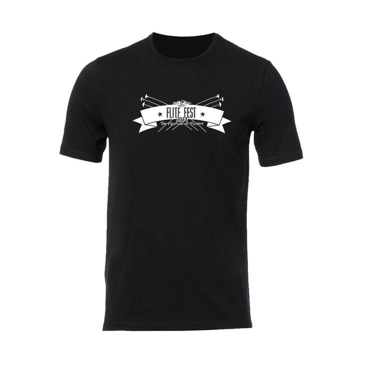 Black Flite Fest 2014 T-shirt - LIMITED EDITION! - Flite Test Store