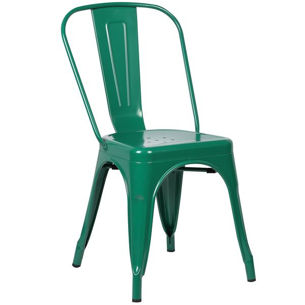 Edgemod Trattoria Matte Metal Dining Chair By Poly And Bark