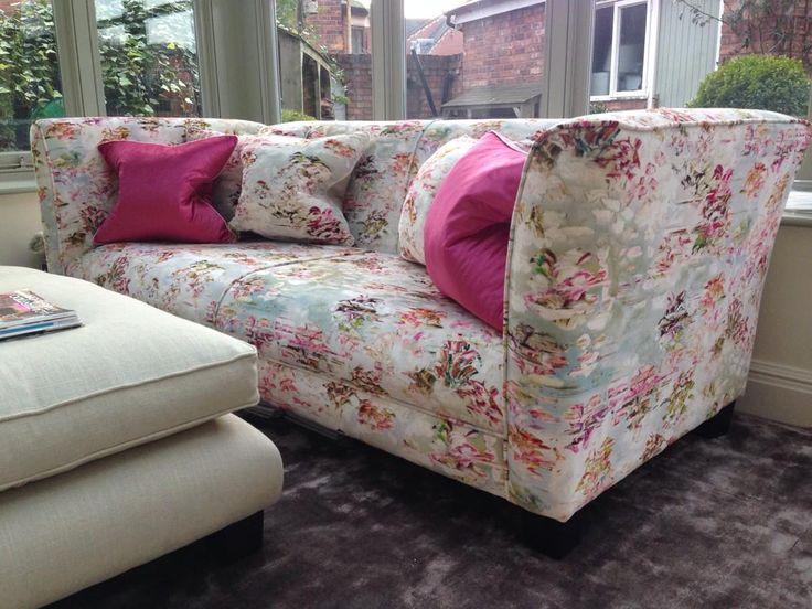 pleasurable designer sofa throws. Another fantastic sofa refurbishment using gorgeous pleasure gardens velvet  Romo Fabrics desire JessicaZoobArt 161 best ROMO Intede images on Pinterest fabrics Soft
