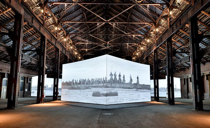 Doug Aitken's 'Altered Earth' exhibition in Arles, France