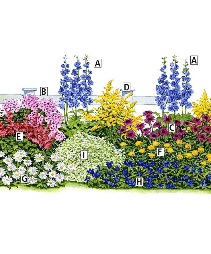 Toutes ces plantes sont des vivaces faciles qui refleuriront chaque année superbement. N'oubliez pas de les arroser, l'eau est un facteur important pour leur développement! Pour stimuler et prolonger la floraison, il est conseillé de supprimer les fleurs fanées au fur et à mesure, en période de floraison.  Collection des 3 saisons, 27 plantes en 9 variétés   Plantes   Bakker France