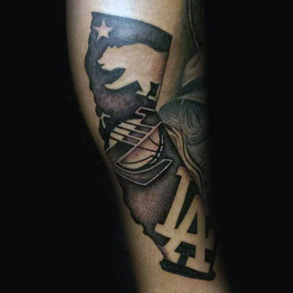 20 best los angeles forearm tattoos images on pinterest for Los angeles tattoo