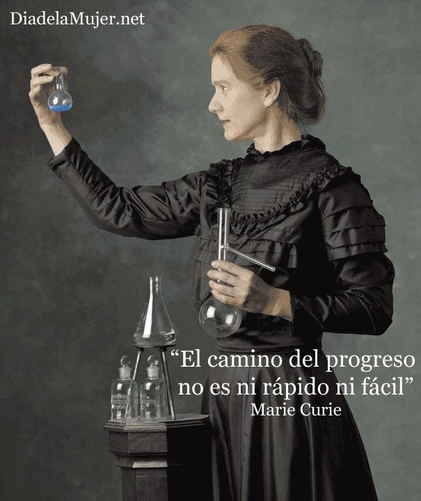 Hoy os presentamos a Marie Curie, pionera en el campo de la radiactividad, fue, entre otros méritos, la primera persona en recibir dos Premios Nobel en distintas especialidades, Física y Química. #DiadelaMujer