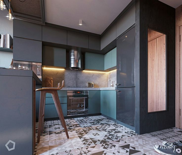Kitchen Design / by Polygon #kitchen #design #interiordesign #tiles #home #inspiration