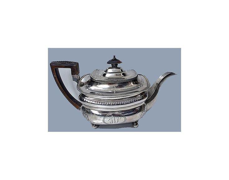 Georgian Silver Tea service, London 1811 Peter & William Bateman.