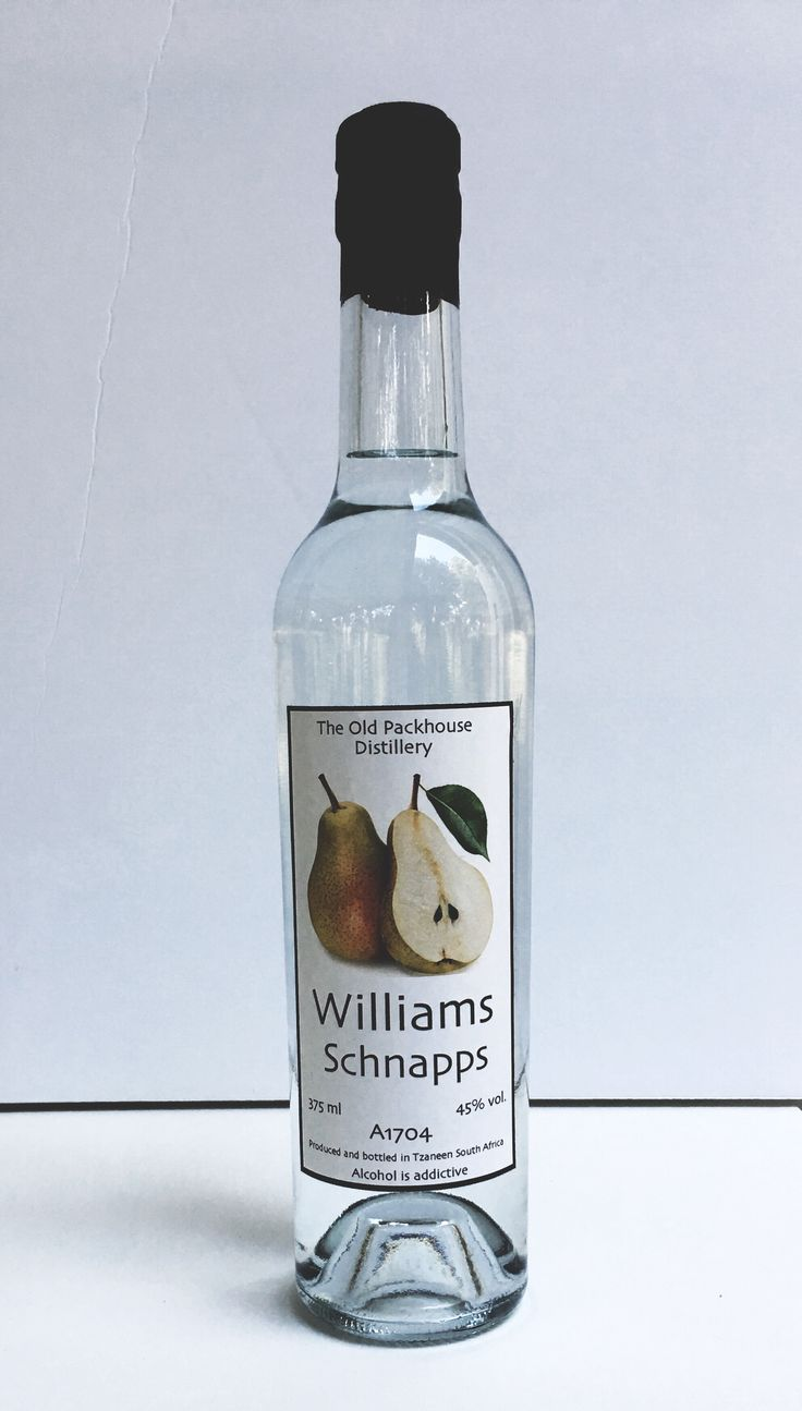 The Old Packhouse Distillery Williams Schnapps