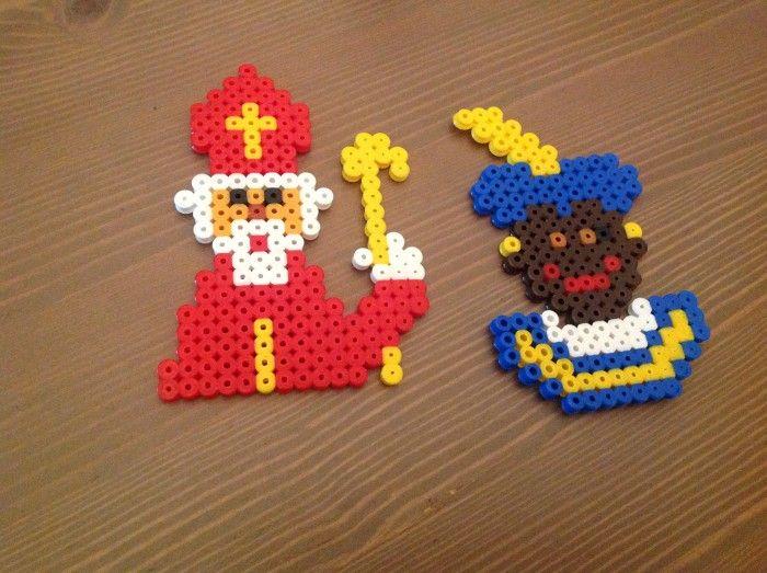 sinterklaas  - Sinterklaas en piet van strijkkraaltjes