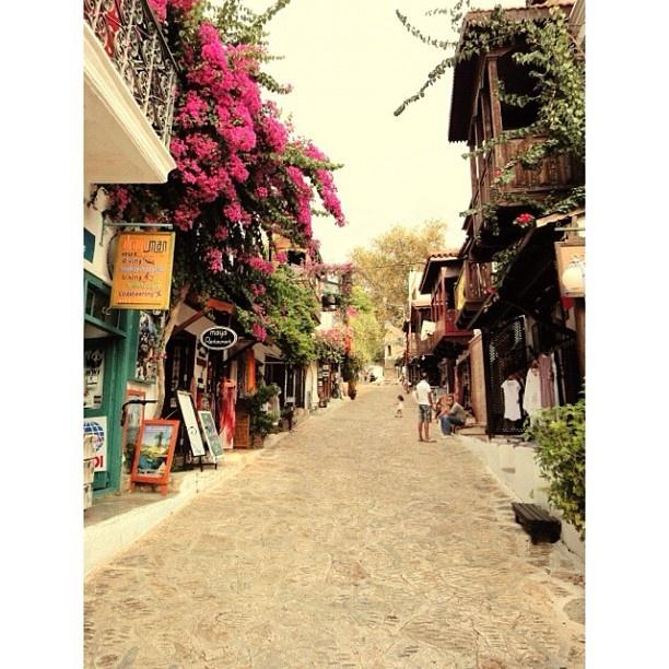 Street in Kas, Antalya