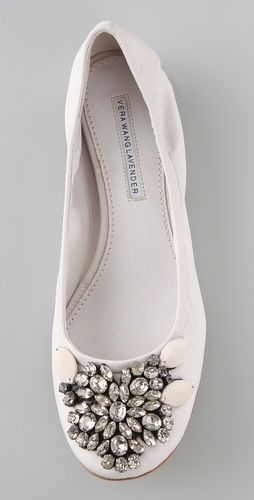 Jeweled Ballet Flats - So Pretty!