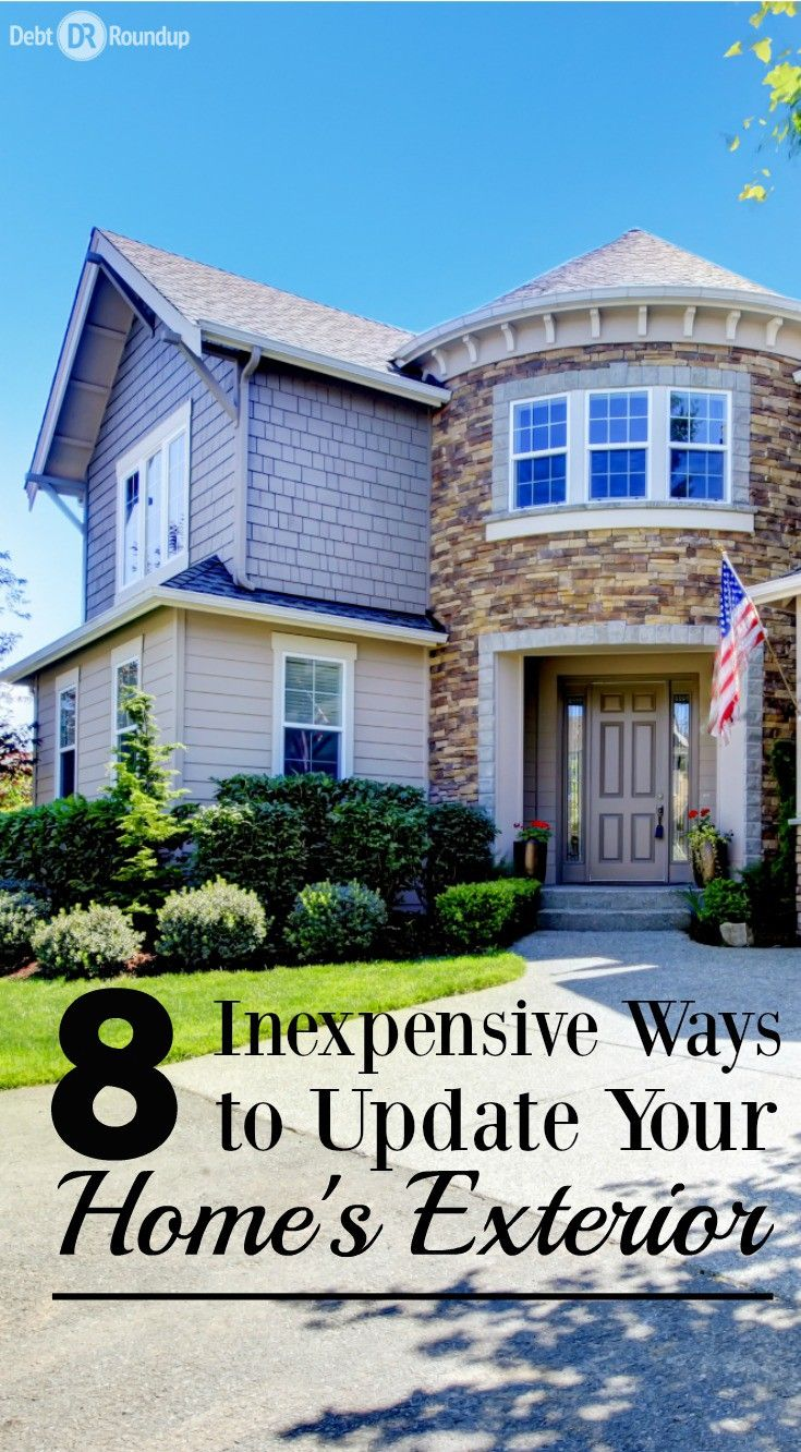Spring is the best time to make your home look awesome. Don't focus on the inside, but spruce up the exterior. These 8 budget-friendly tips will help your home look great and the envy of the neighborhood!