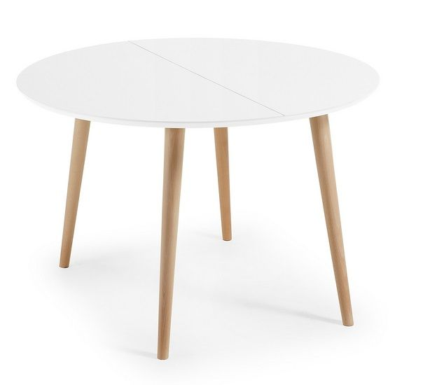 M s de 25 ideas incre bles sobre mesa redonda extensible for Mesa nordica extensible