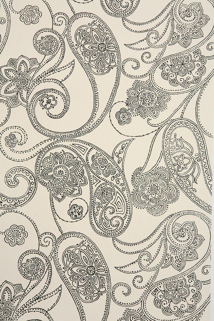 Home diy wallpaper illustration arthouse imagine fern plum motif vinyl - Dara Ettinger Dara Ring