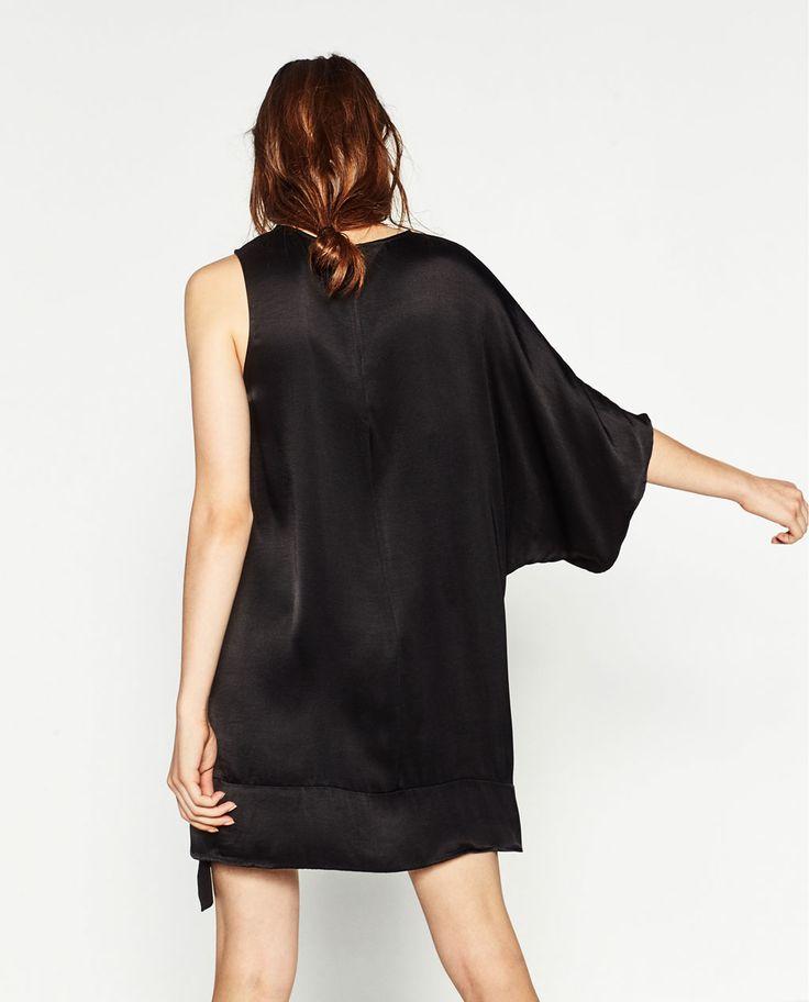 ASYMMETRIC DRESS-DRESSES-WOMAN   ZARA United States