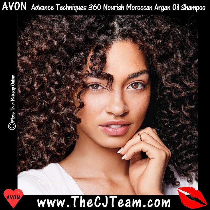 #Avon #Advance Techniques 360 Nourish Moroccan #Argan Oil Shampoo . Instantly improve hair's health and shine with #Moroccan argan oil. It helps to transform dry hair and leaves it feeling moisturized. Formulated with argan oil, provitamin B5 and vitamin E, cleanses hair with a creamy, luxurious lather, helping to restore the signs of healthy #hair. Reg. $6  #CJTeam #C2 #Sale #AdvancedTechniques Shop Avon Online @ www.TheCJTeam.com