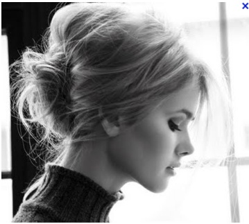 messy chignon: Wedding Hair, Hairstyles, Hair Styles, Makeup, Messy Buns, Beauty, Updo