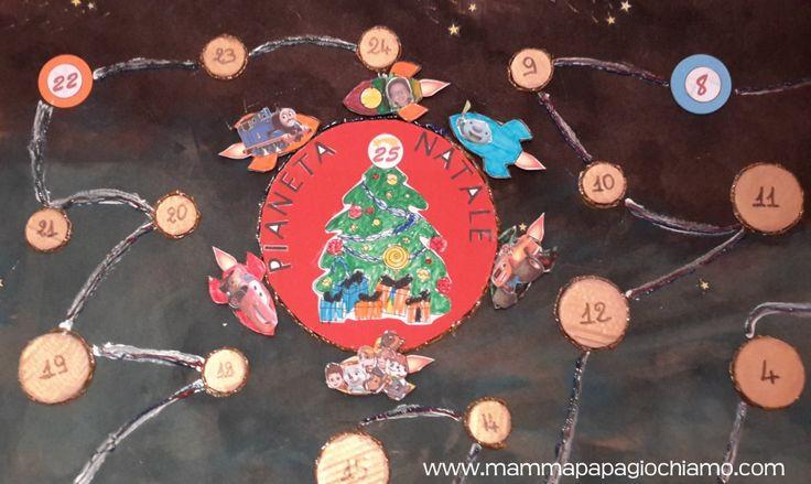Calendario dell'avvento 2015 - Missione Spaziale verso il Pianeta Natale!
