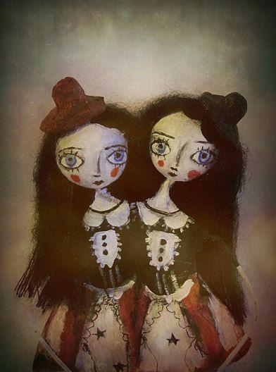Goth doll